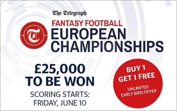 telegraph fantasy football Euro 2016 tips - best defenders and GKs
