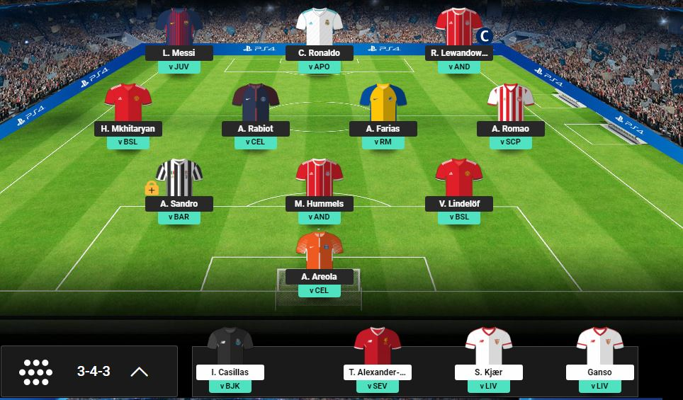 Champions League Fantasy comes to FFGeek with Akis