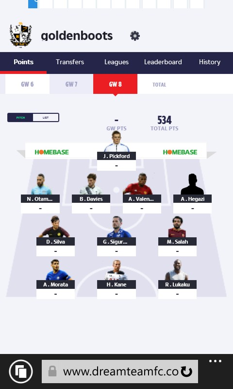 sun dream team advice