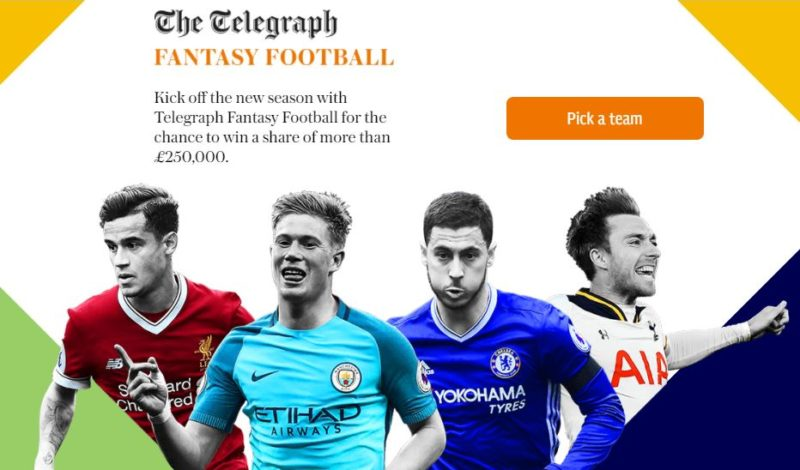 telegraph fantasy football - FFGeek team review and player analysis