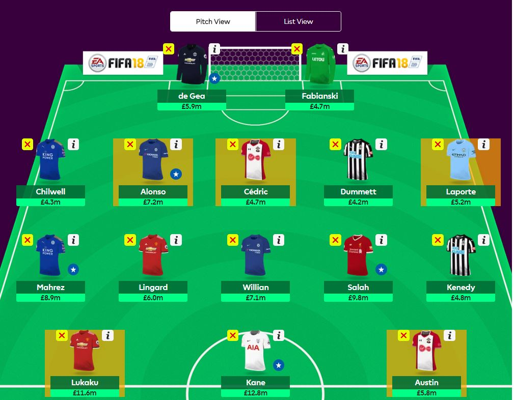 fpl gameweek 34 wildcard tips