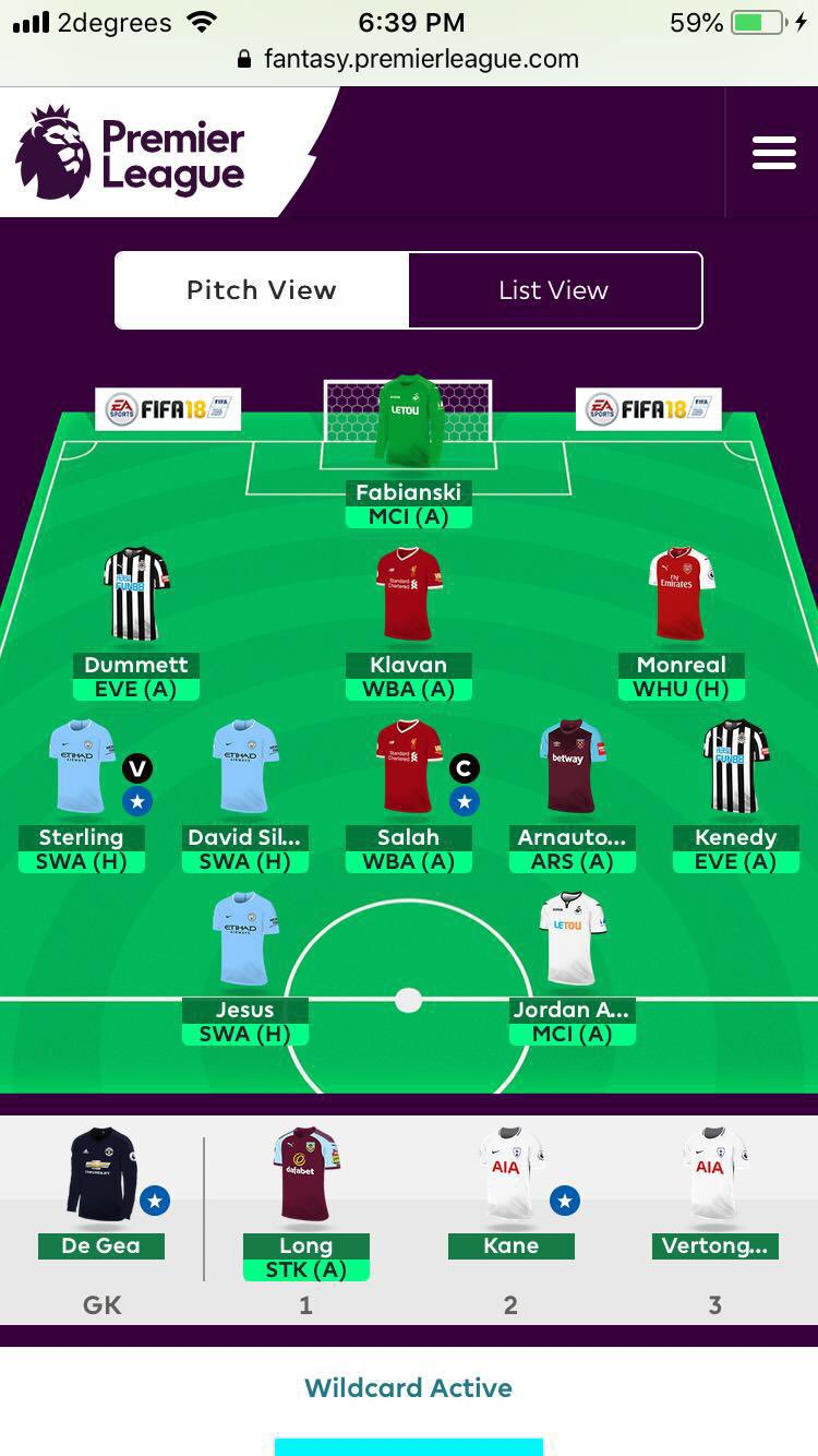 fantasy premier league GW35 team tips