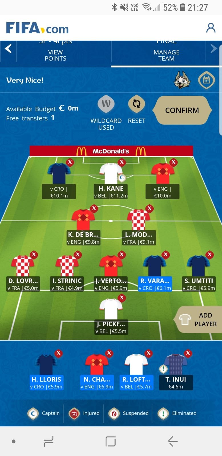 fantasy World Cup final tips
