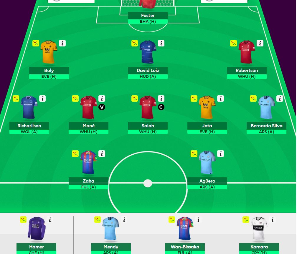 fpl differential teams