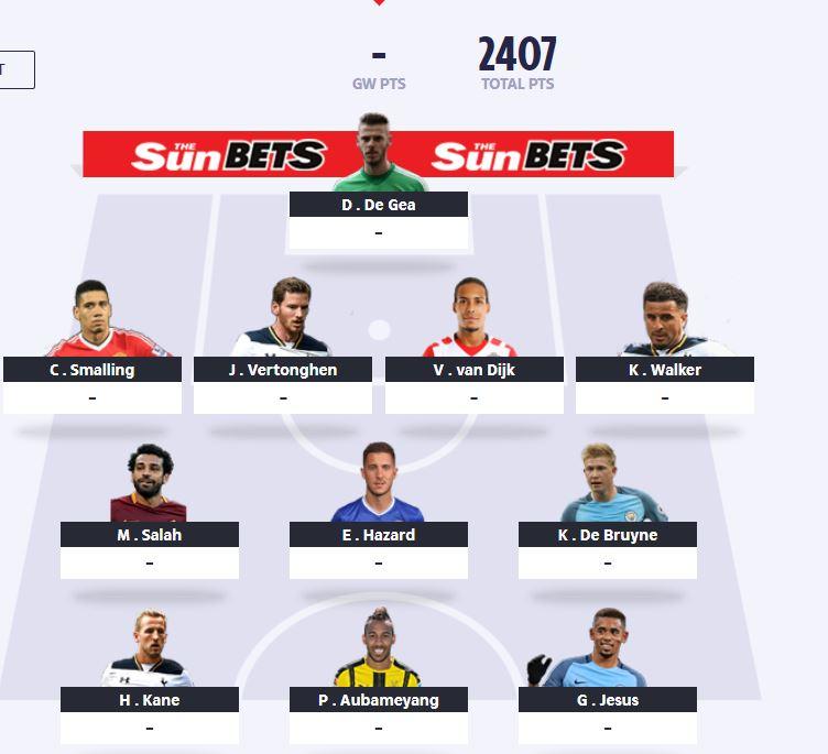 fantasy football gw38