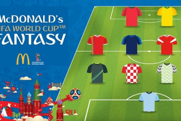 McDonalds Fantasy World Cup