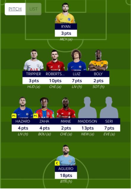 GW7 fantasy football tips