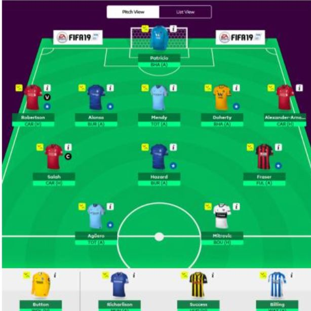 GW10 fantasy football tips