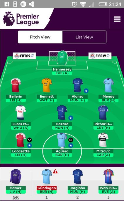 FPL team tips gameweek 9