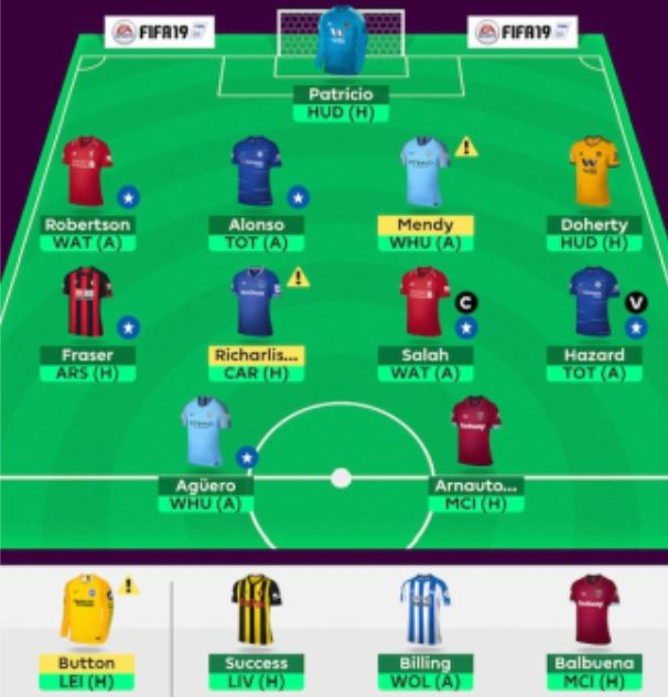GW13 fantasy football tips