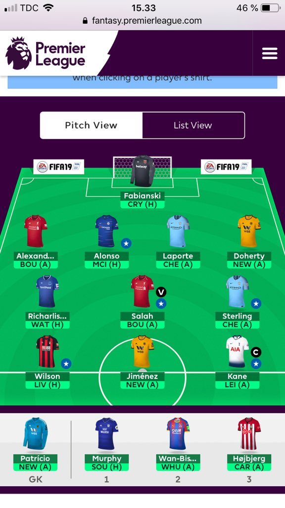 FPL team tips GW16