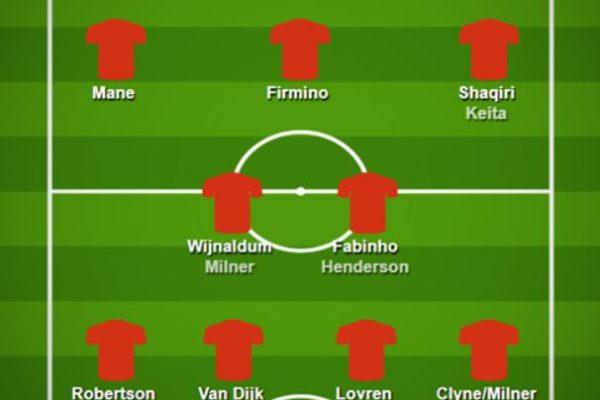 premier league lineups GW18