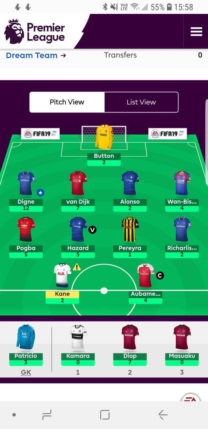 fantasy premier league wildcard tips GW23