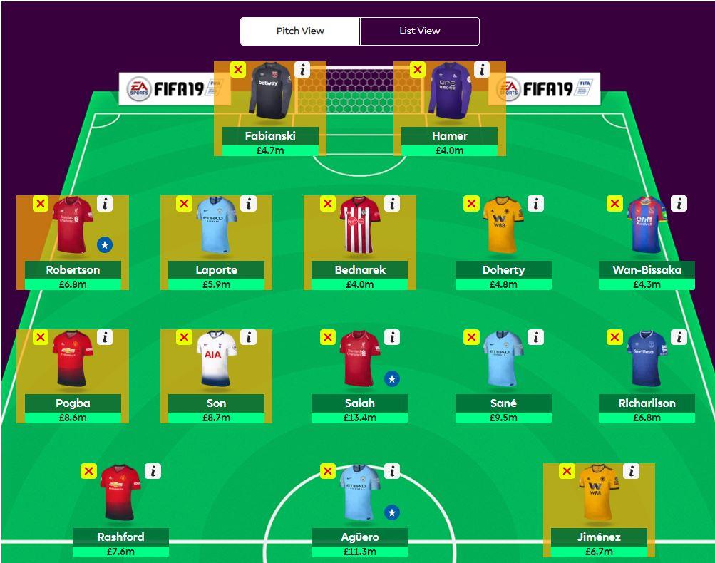 fantasy premier league transfer tips GW26