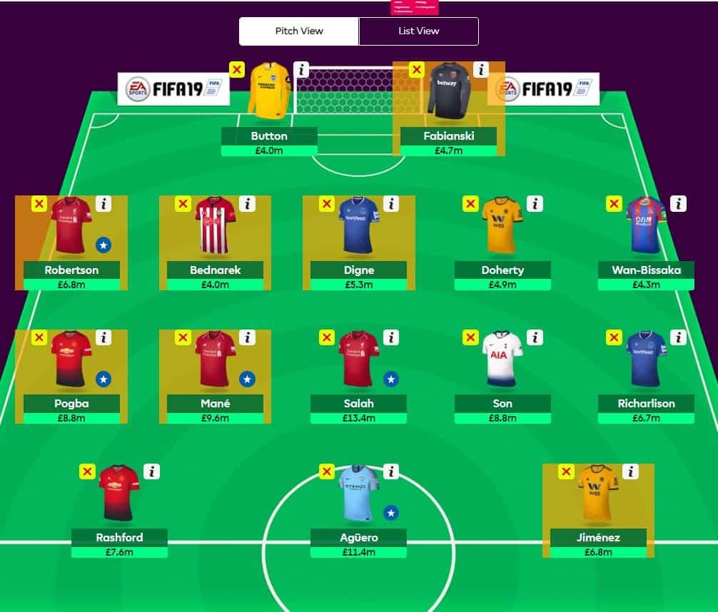 fantasy premier league transfer tips GW27