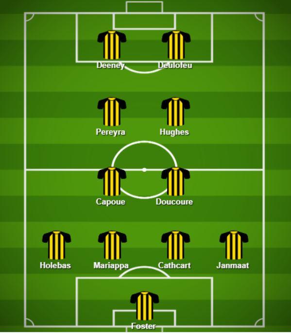 potential premier league lineups GW30