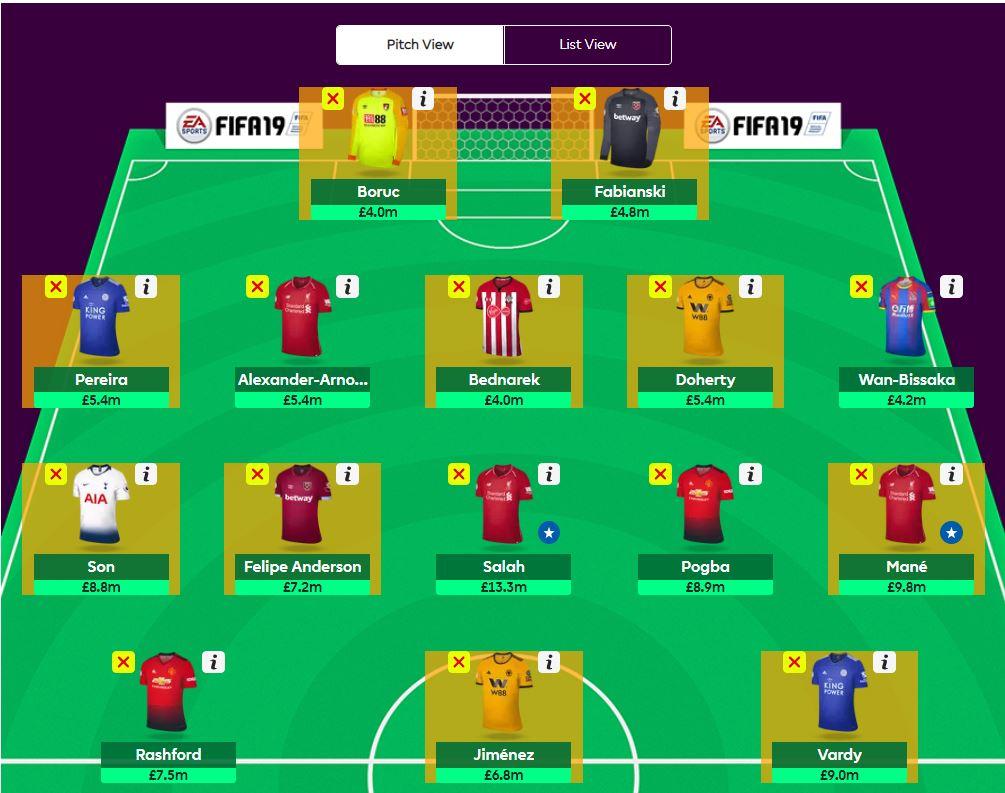 fantasy premier league transfer tips GW31