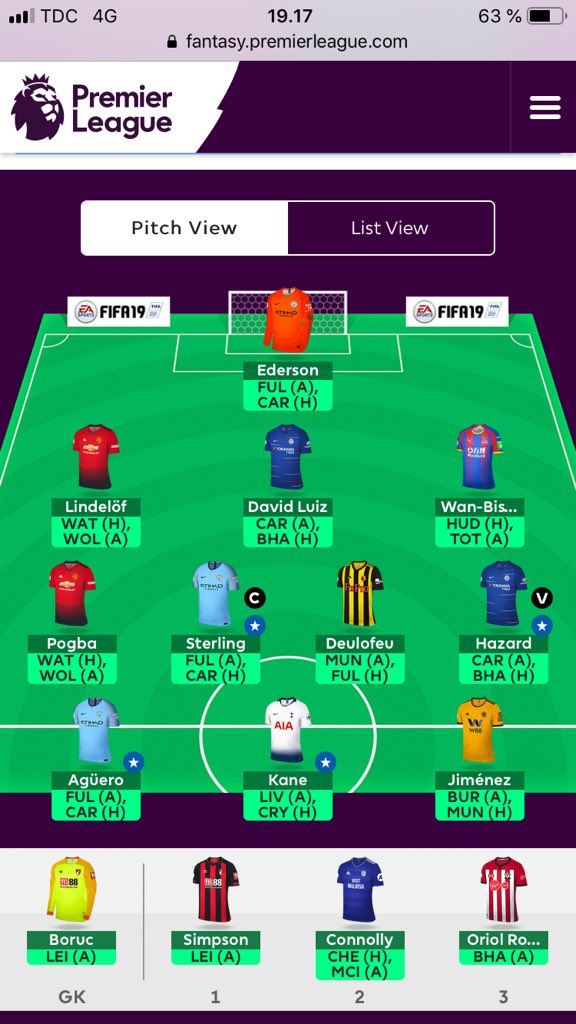 09f325f75a7 FPL double gameweek 32 - more FFGeek contributors draft Free Hit teams