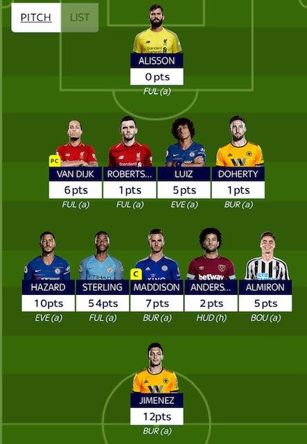 GW31 fantasy football tips