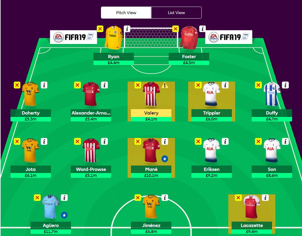 fantasy premier league transfer tips GW35