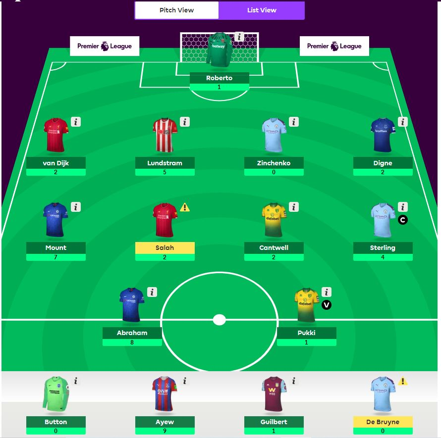 fantasy premier league wildcard tips GW9