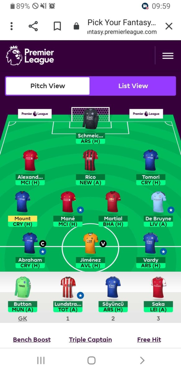 FPL team tips GW12