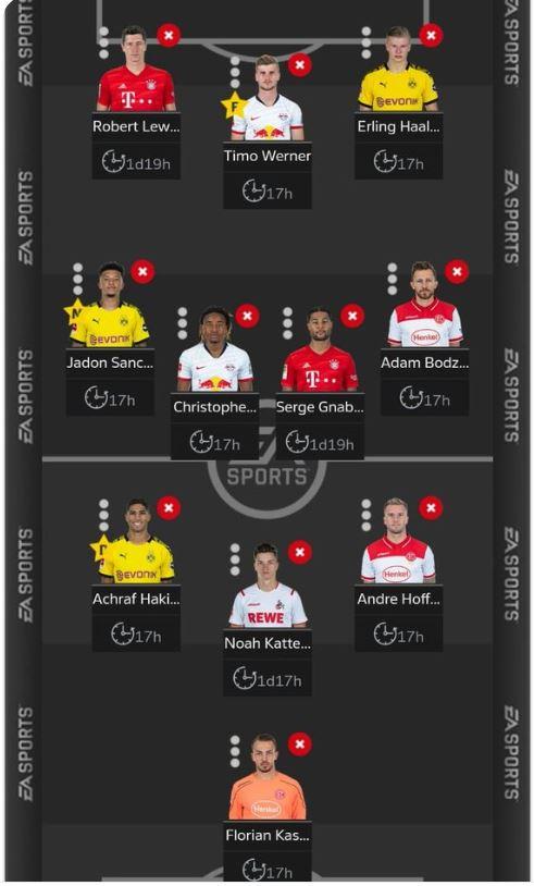 fantasy Bundesliga Matchday 27