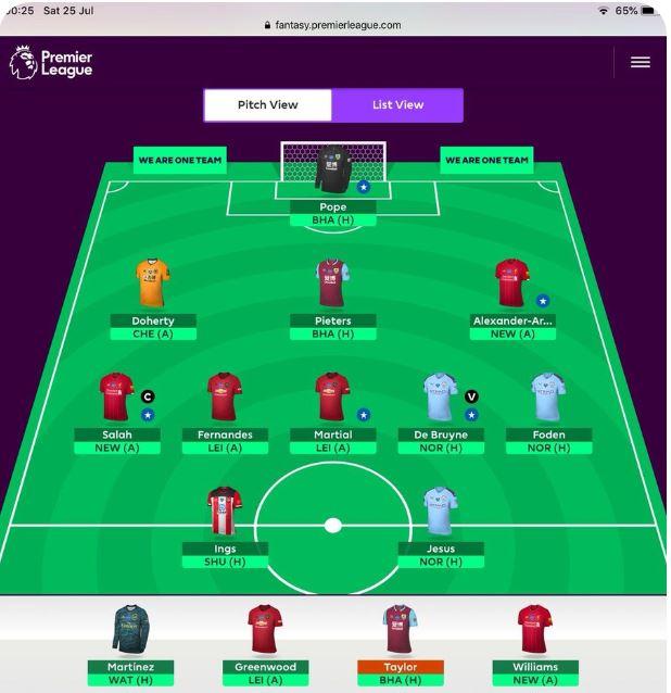 Fantasy Premier League tips GW38