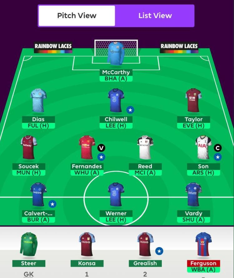 Fantasy Premier League team tips GW11