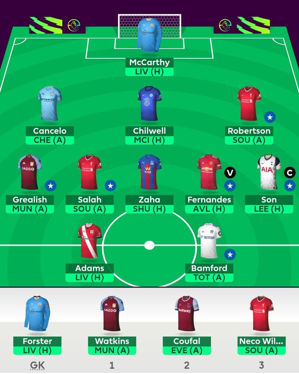 fpl team tips GW17