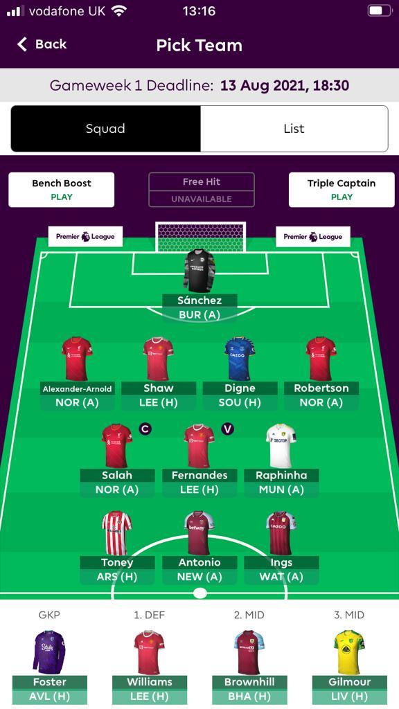 Fantasy Premier League Tips 2021 22 3 Contributors Updated Teams